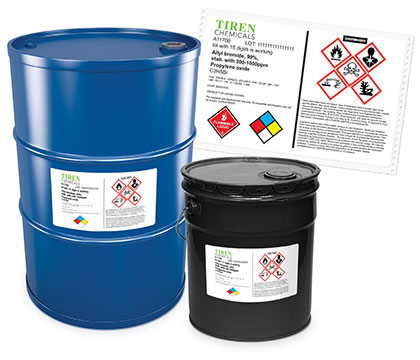 Drum and Pail Labels